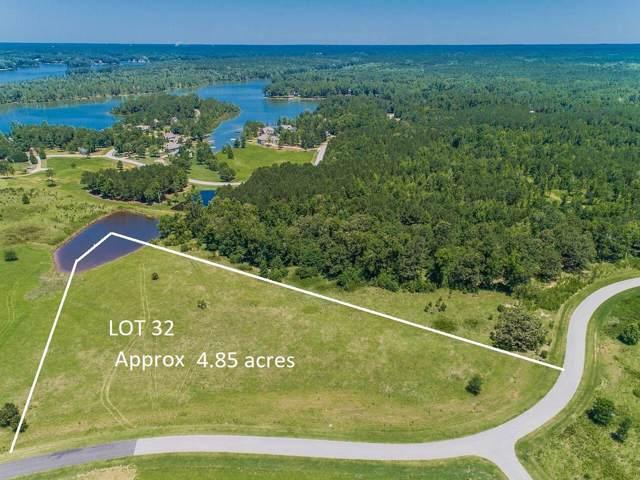 Lot 32 Oconee Landing Drive, White Plains, GA 30678 (MLS #54498) :: Team Lake Country