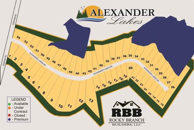 154 Alexander Lakes Drive, Eatonton, GA 31024 (MLS #57155) :: Team Lake Country