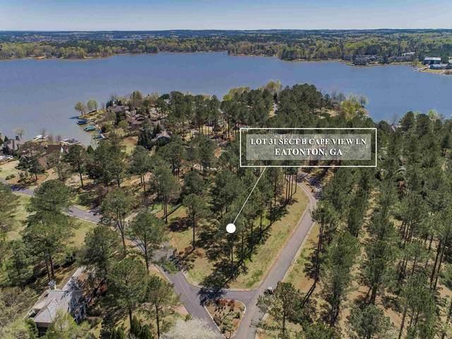 Lot 31 Island View Lane, Eatonton, GA 31024 (MLS #57314) :: Team Lake Country