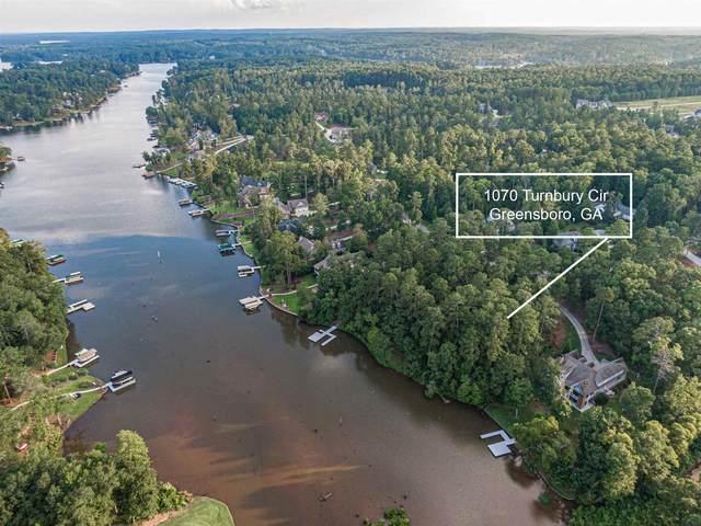 1070 Turnberry Circle, Greensboro, GA 30642 (MLS #57328) :: Team Lake Country