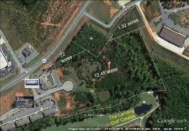 14.5 acres Lake Oconee Parkway, Greensboro, GA 30642 (MLS #47325) :: Team Lake Country