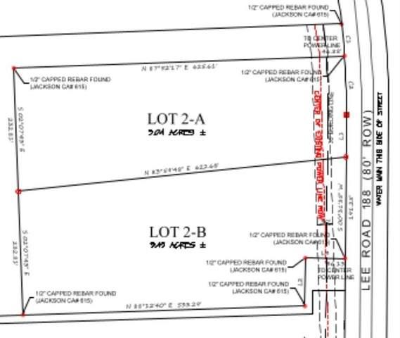 Lot 2-B Lee Road 188, AUBURN, AL 36832 (MLS #152316) :: The Mitchell Team