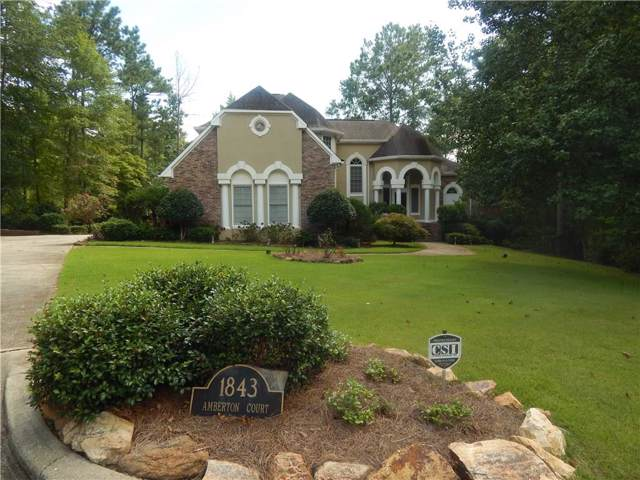 1843 Amberton Court, AUBURN, AL 36830 (MLS #139766) :: Crawford/Willis Group