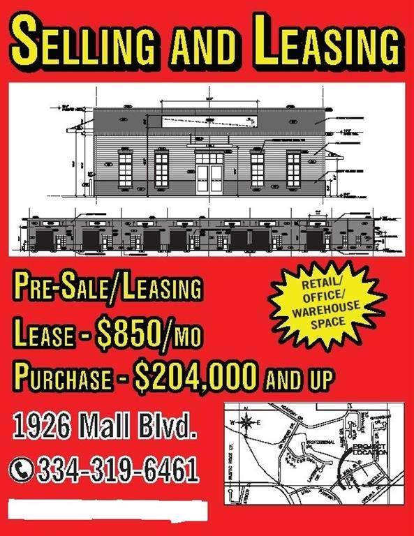 1926 Mall Boulevard, AUBURN, AL 36830 (MLS #148127) :: The Mitchell Team