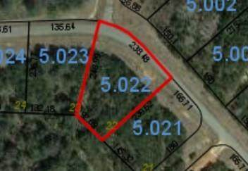 Lot 22 Hidden Lake Drive, TALLASSEE, AL 36078 (MLS #148464) :: Crawford/Willis Group