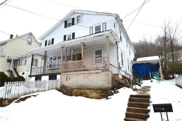 55 W High Street, Nesquehoning Borough, PA 18240 (MLS #604422) :: RE/MAX Results