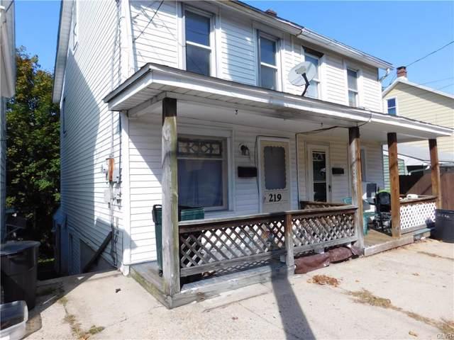 219 E High Street, Schuylkill County, PA 18218 (MLS #626458) :: Keller Williams Real Estate