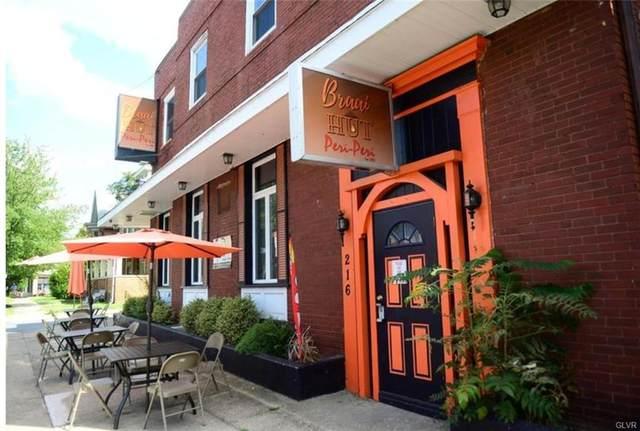 216 E Broad Street, Bethlehem City, PA 18018 (MLS #681608) :: Smart Way America Realty