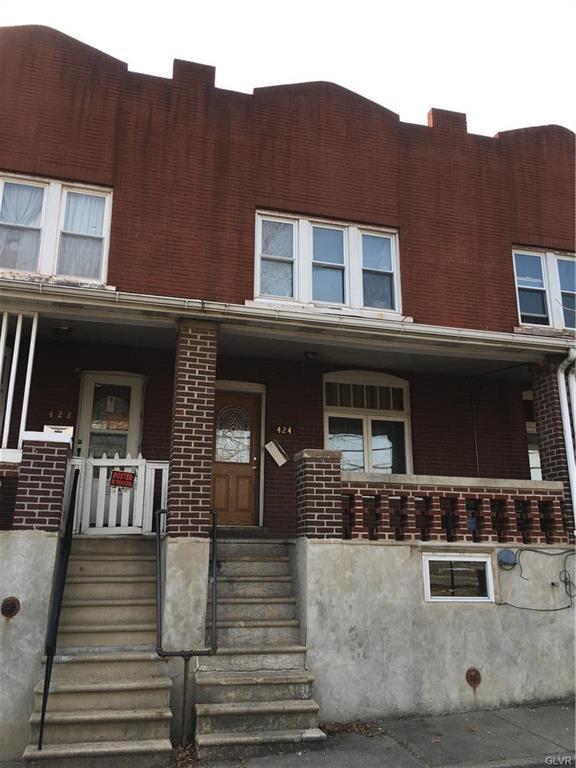 424 N Law Street, Allentown City, PA 18102 (MLS #605194) :: Keller Williams Real Estate