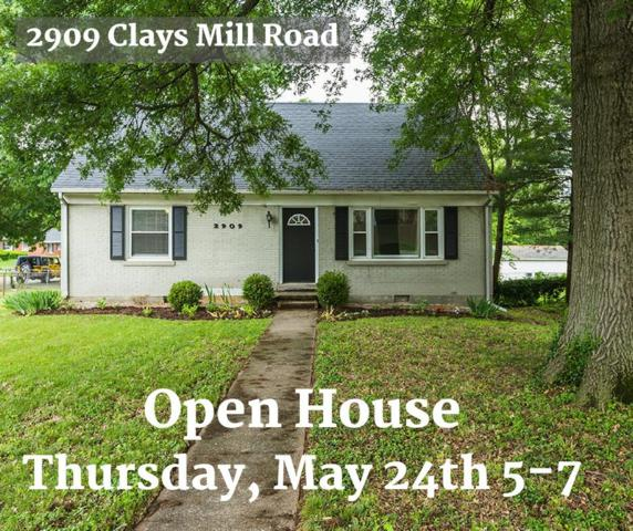 2909 Clays Mill Road, Lexington, KY 40503 (MLS #1811338) :: Gentry-Jackson & Associates