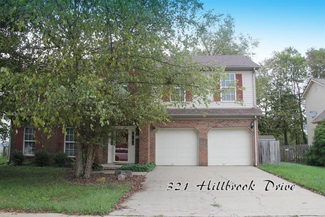 321 Hillbrook Drive, Nicholasville, KY 40356 (MLS #1822055) :: Sarahsold Inc.