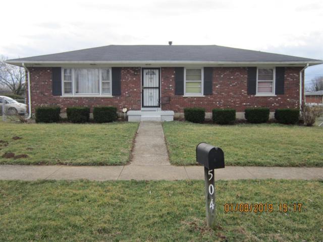 504 Asbury Lane, Lexington, KY 40511 (MLS #1902514) :: Sarahsold Inc.