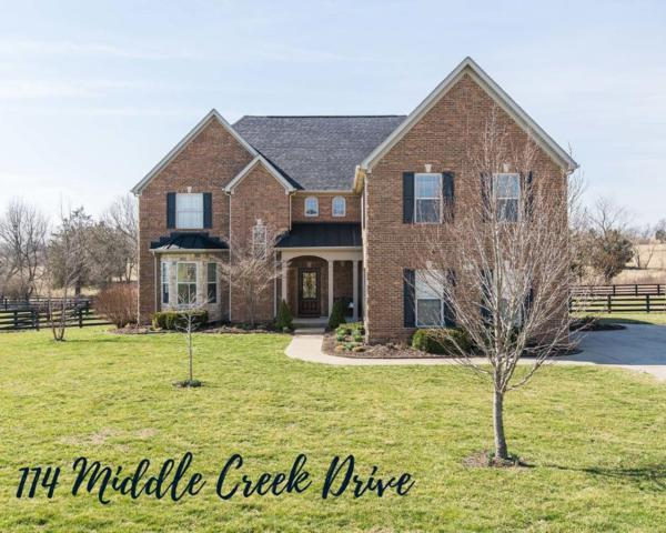 114 Middle Creek Drive, Nicholasville, KY 40356 (MLS #1912877) :: Nick Ratliff Realty Team