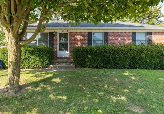 213 Lauren Drive, Nicholasville, KY 40356 (MLS #20017644) :: Robin Jones Group