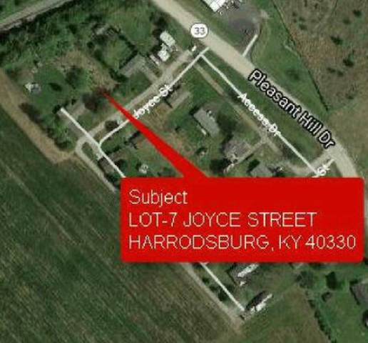7 Joyce Street Lot 7, Harrodsburg, KY 40313 (MLS #20019785) :: Nick Ratliff Realty Team