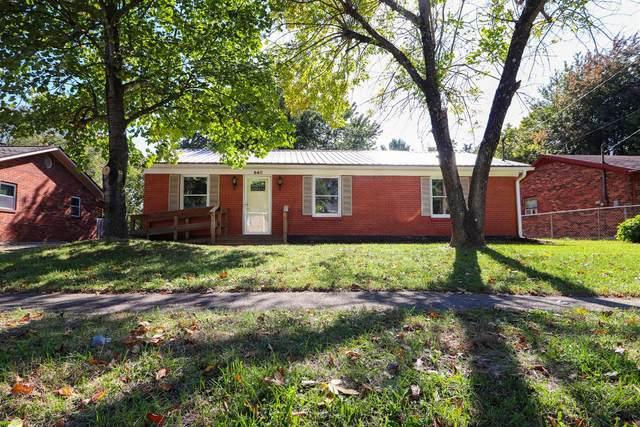 640 Cottonwood Drive, Richmond, KY 40475 (MLS #20020744) :: Nick Ratliff Realty Team