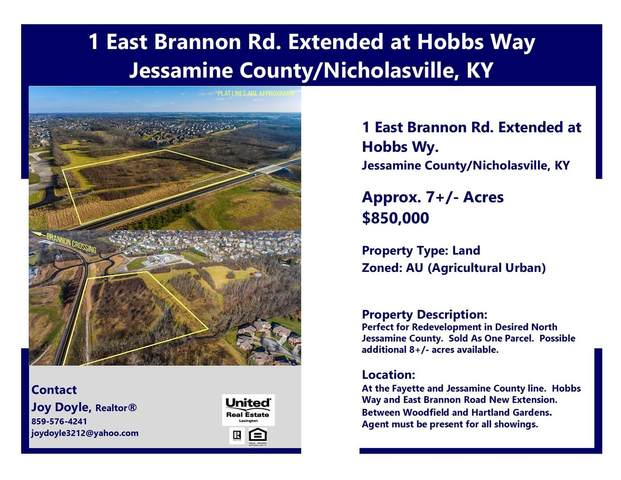 1 E Brannon Rd Extended At Hobbs Way, Nicholasville, KY 40356 (MLS #20100367) :: Better Homes and Garden Cypress