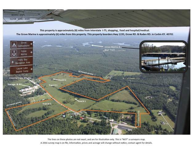 1193 Bee Creek Rd. Tract# 1, Corbin, KY 40701 (MLS #20103453) :: Robin Jones Group