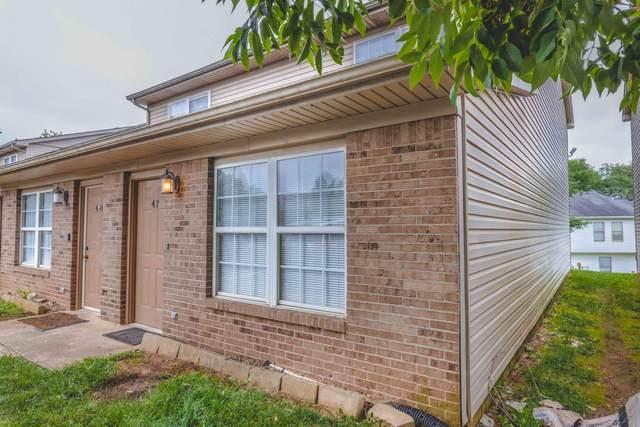 1100 Horsemans Lane #47, Lexington, KY 40504 (MLS #20117552) :: Better Homes and Garden Cypress