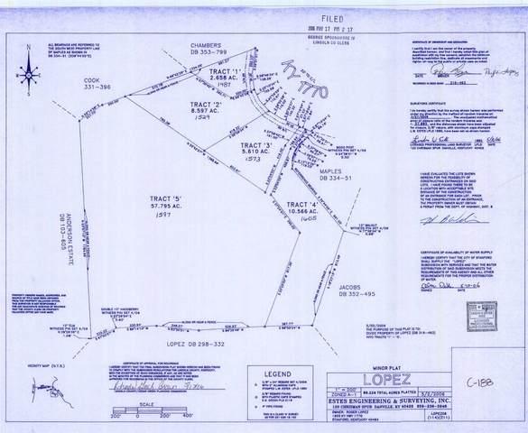 1605 Ky Hwy 1770, Stanford, KY 40484 (MLS #20022374) :: Nick Ratliff Realty Team