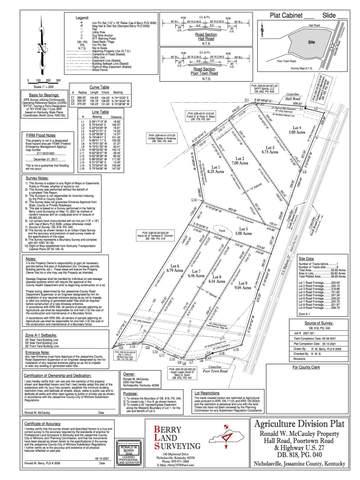1 Hall Road, Nicholasville, KY 40356 (MLS #20109668) :: The Lane Team