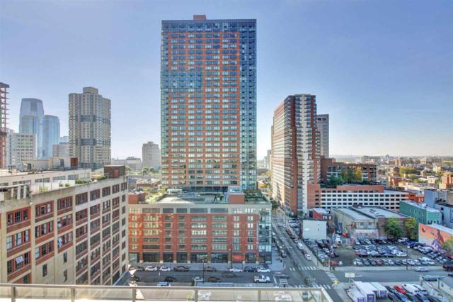 160 1ST ST #1013, Jc, Downtown, NJ 07302 (MLS #170018753) :: The Trompeter Group