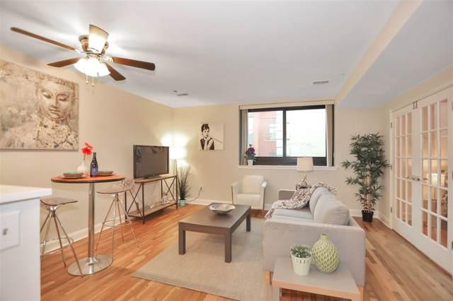 518 Gregory Ave B401, Weehawken, NJ 07086 (MLS #190021753) :: The Trompeter Group