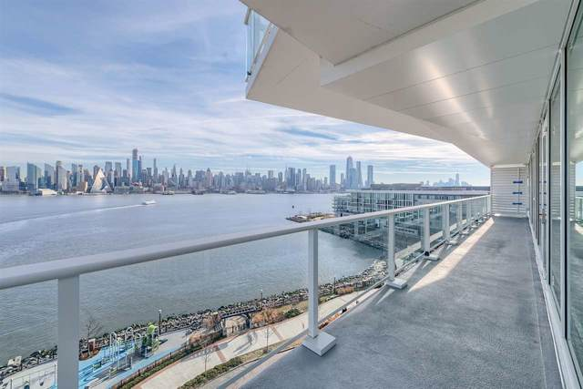 800 Avenue At Port Imperial #705, Weehawken, NJ 07086 (MLS #190022551) :: The Sikora Group