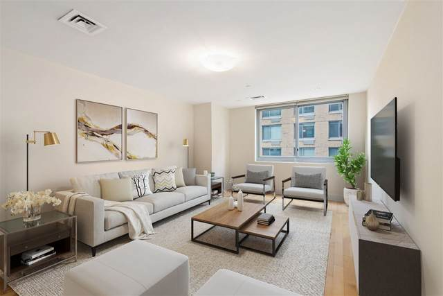 201 Luis M Marin Blvd #402, Jc, Downtown, NJ 07302 (MLS #202005997) :: The Trompeter Group