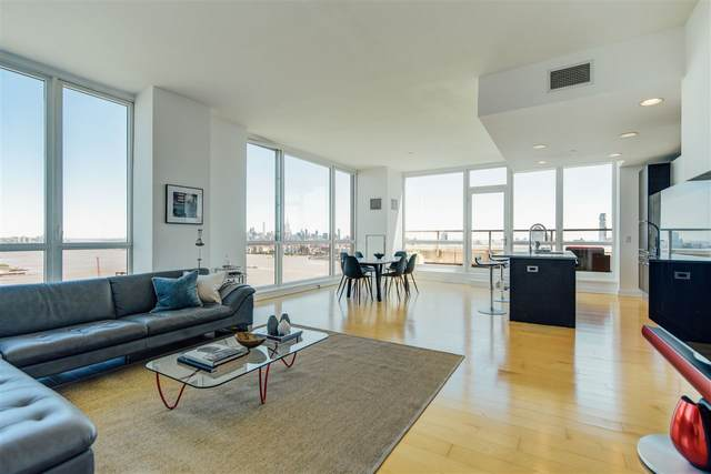 2 2ND ST Ph4002, Jc, Downtown, NJ 07302 (MLS #202027129) :: The Trompeter Group
