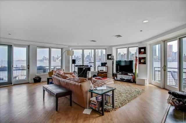 600 Harbor Blvd #779, Weehawken, NJ 07086 (MLS #210010534) :: The Danielle Fleming Real Estate Team