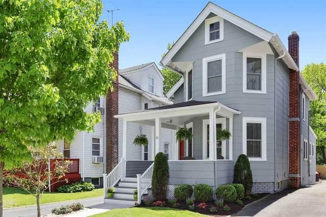 58 Montague Pl, Montclair, NJ 07042 (MLS #210011678) :: The Trompeter Group