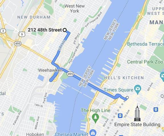 212 48TH ST #4, Union City, NJ 07087 (MLS #210014924) :: Hudson Dwellings
