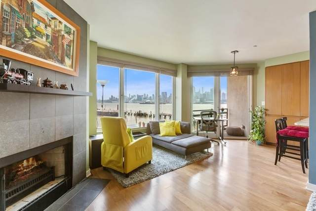 600 Harbor Blvd #871, Weehawken, NJ 07086 (MLS #210017437) :: The Trompeter Group
