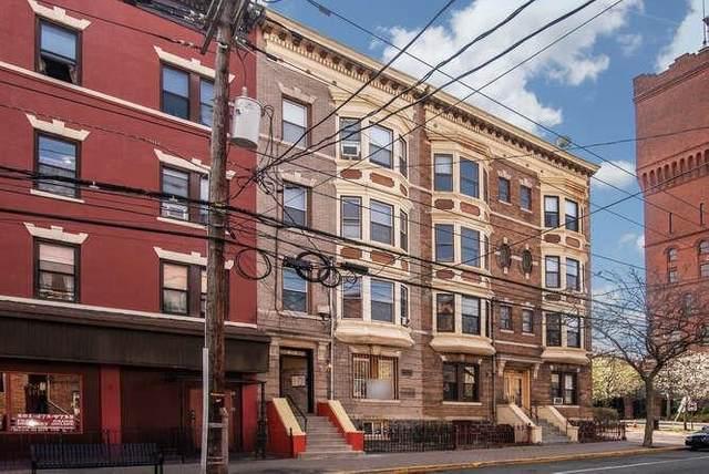 4110 Park Ave #3, Weehawken, NJ 07086 (MLS #210017572) :: The Trompeter Group