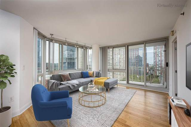 20 2ND ST #1602, Jc, Downtown, NJ 07302 (MLS #210018535) :: Provident Legacy Real Estate Services, LLC