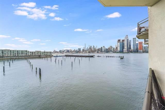 600 Harbor Blvd #845, Weehawken, NJ 07086 (MLS #210018925) :: The Sikora Group