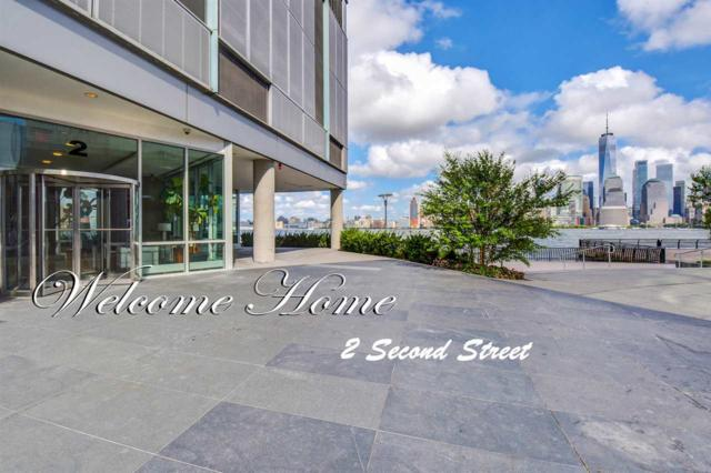 2 2ND ST #2606, Jc, Downtown, NJ 07302 (MLS #190001147) :: The Trompeter Group