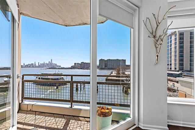 600 Harbor Blvd #806, Weehawken, NJ 07086 (MLS #210007771) :: The Danielle Fleming Real Estate Team