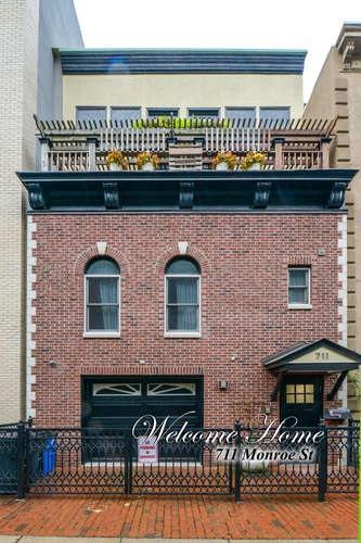 711 Monroe St, Hoboken, NJ 07030 (MLS #180017728) :: The Trompeter Group