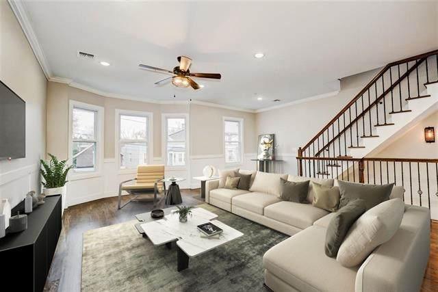 127 Sherman Pl #2, Jc, Heights, NJ 07307 (MLS #210002274) :: The Danielle Fleming Real Estate Team