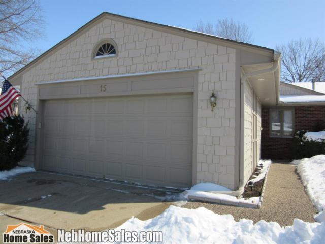 7100 Old Post Road #15, Lincoln, NE 68506 (MLS #10153517) :: Nebraska Home Sales