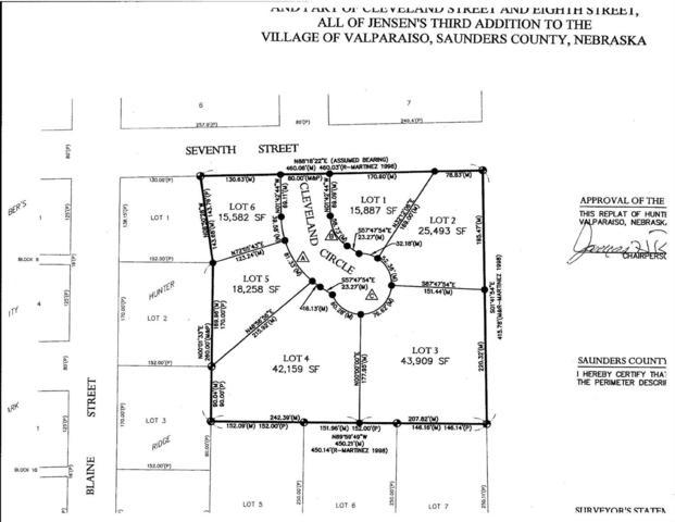 0 Hunter Ridge 2nd Addn., Valparaiso, NE 68065 (MLS #10144326) :: Nebraska Home Sales