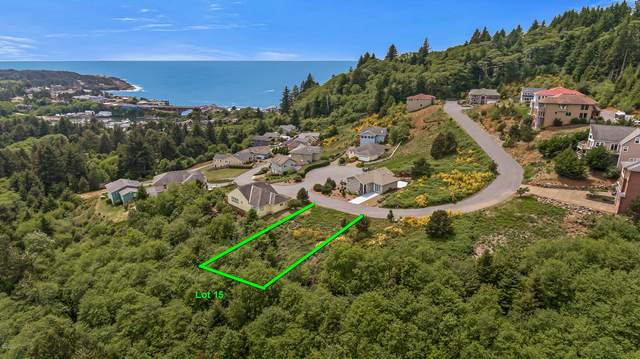 Lot15 Spring Ave, Depoe Bay, OR 97341 (MLS #19-2269) :: Coho Realty