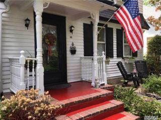 38 Oak St, Northport, NY 11768 (MLS #2940980) :: Signature Premier Properties