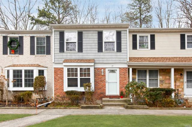 23 Thornton Commons, Yaphank, NY 11980 (MLS #3003887) :: Netter Real Estate