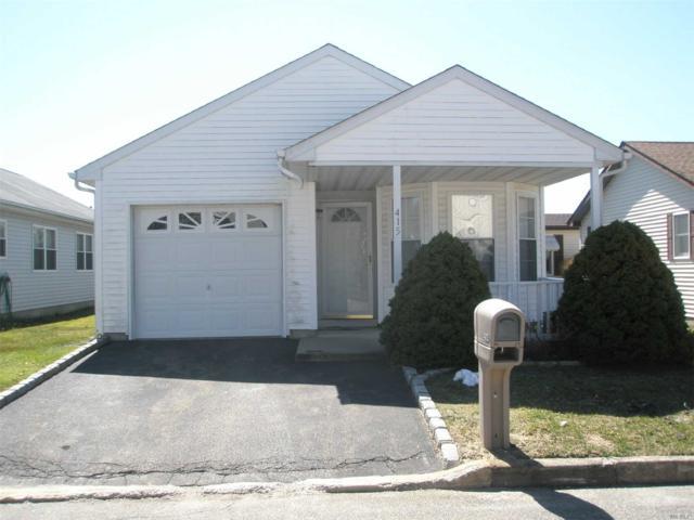 415 Village Circle N, Manorville, NY 11949 (MLS #3016675) :: The Lenard Team