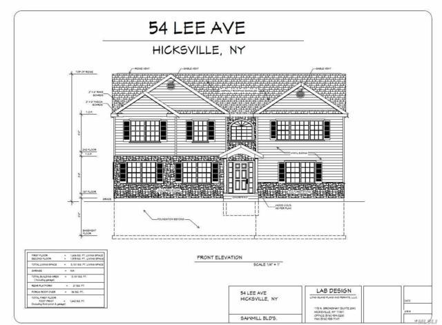 54 Lee Ave, Hicksville, NY 11801 (MLS #3031546) :: The Lenard Team