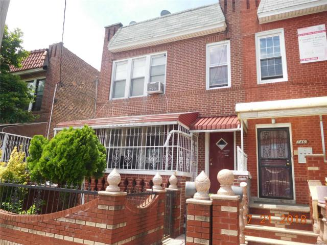 748 E 53rd St, Brooklyn, NY 11203 (MLS #3051558) :: Netter Real Estate
