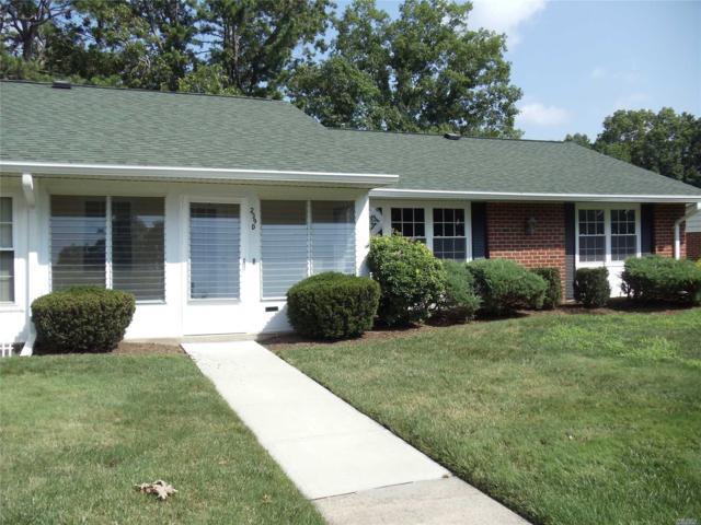 239D Weymouth Ct #55, Ridge, NY 11961 (MLS #3052160) :: Netter Real Estate